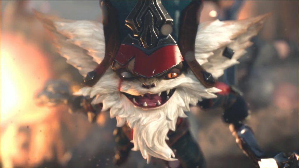 LoL Kled Portrait Yordle