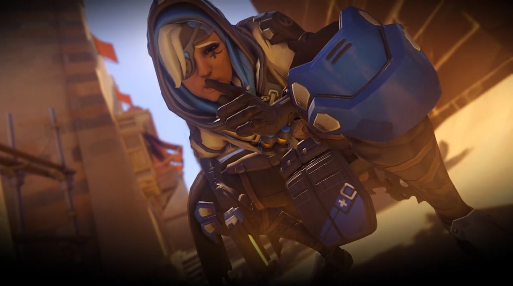 Overwatch Ana Gameplay Trailer