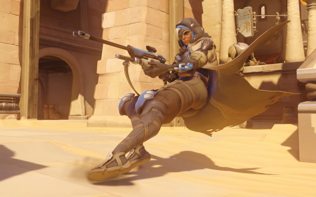 Overwatch Ana Screenshot Action
