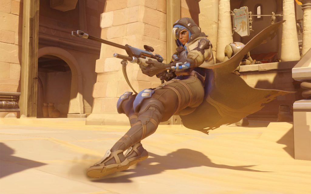 Overwatch Ana Screenshot Action