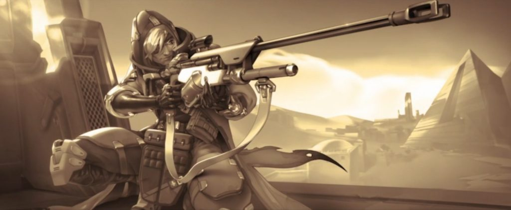 Overwatch Ana Sniping