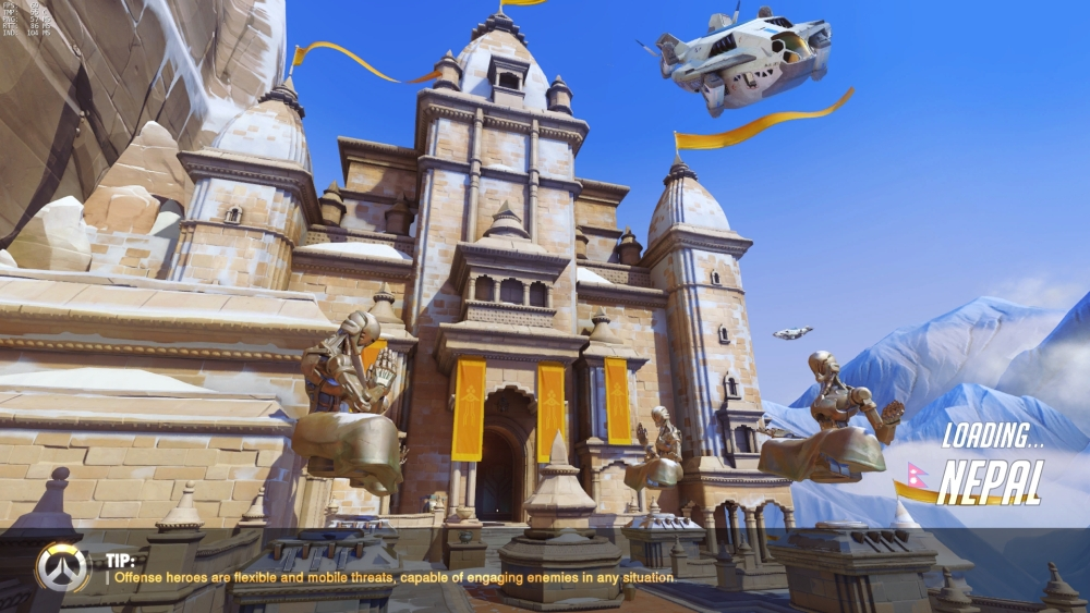 Overwatch Nepal Loading Screen