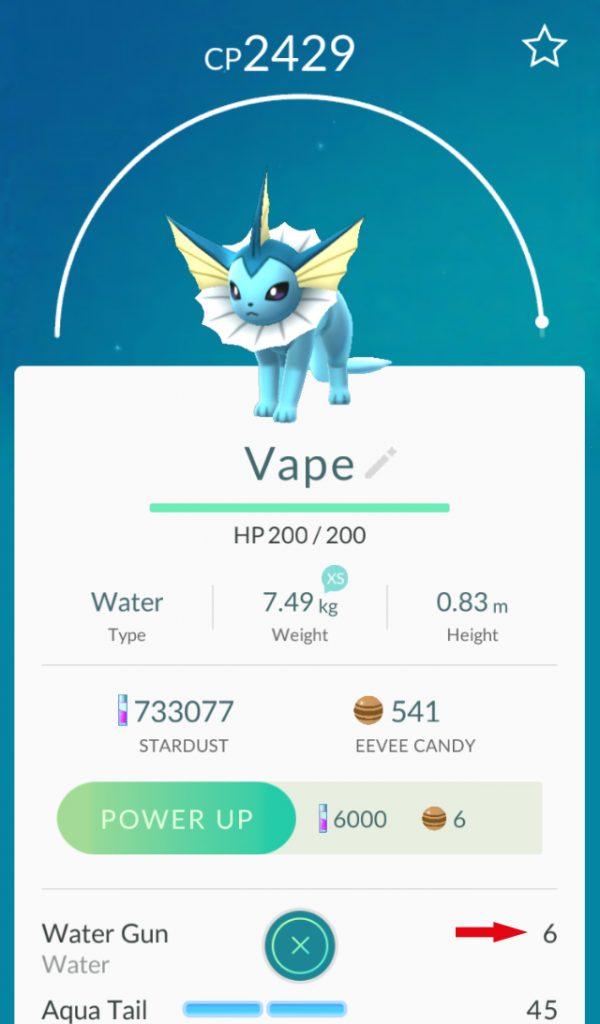 Pokémon GO Aquaknarre
