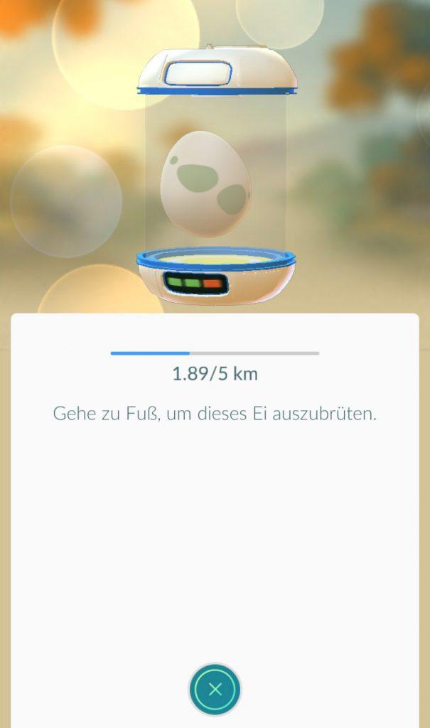 Pokémon GO distanz ausbrüten
