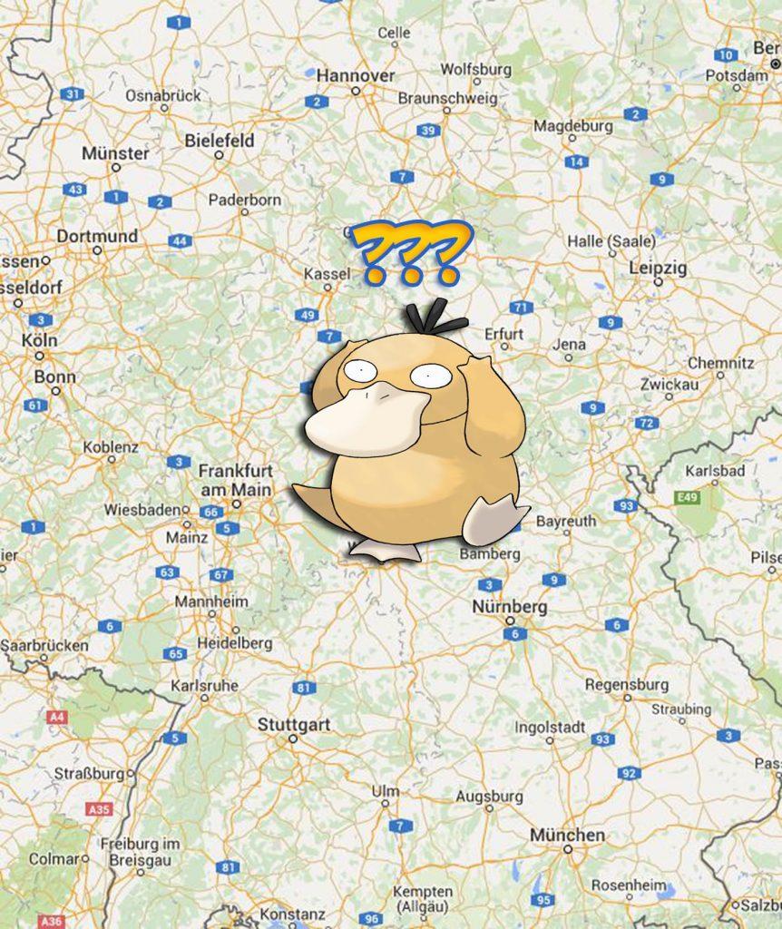 Pokémon GO Enton verwirrt Fundorte Deutschland