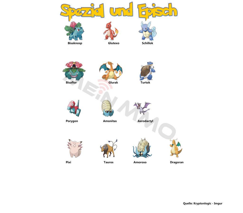 Pokemon GO Spezial und episch2