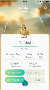 Pokémon GO Sternenstaub