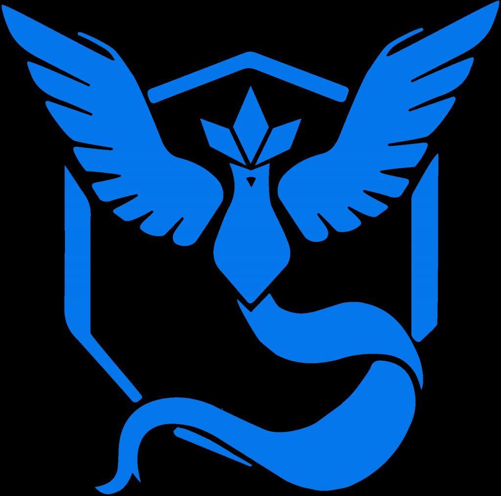 Pokemon GO Team Blau