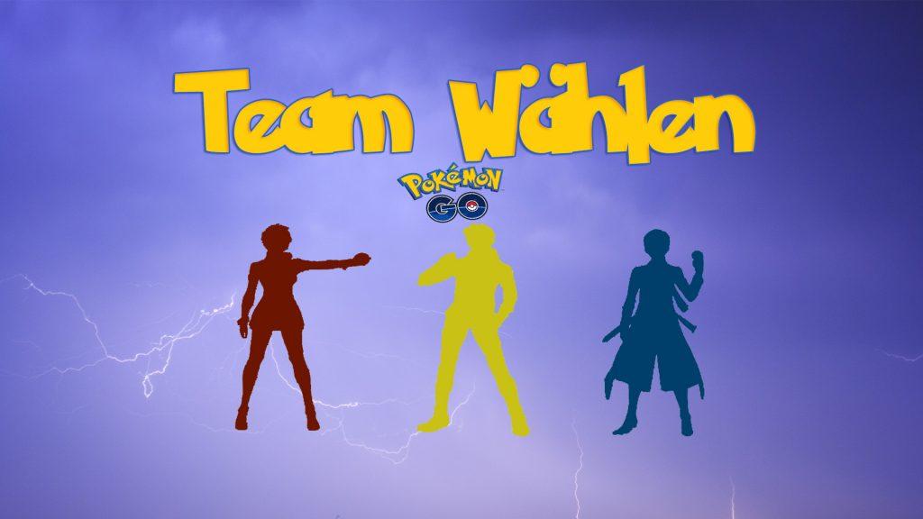 Pokemon-Go Team wählen 3