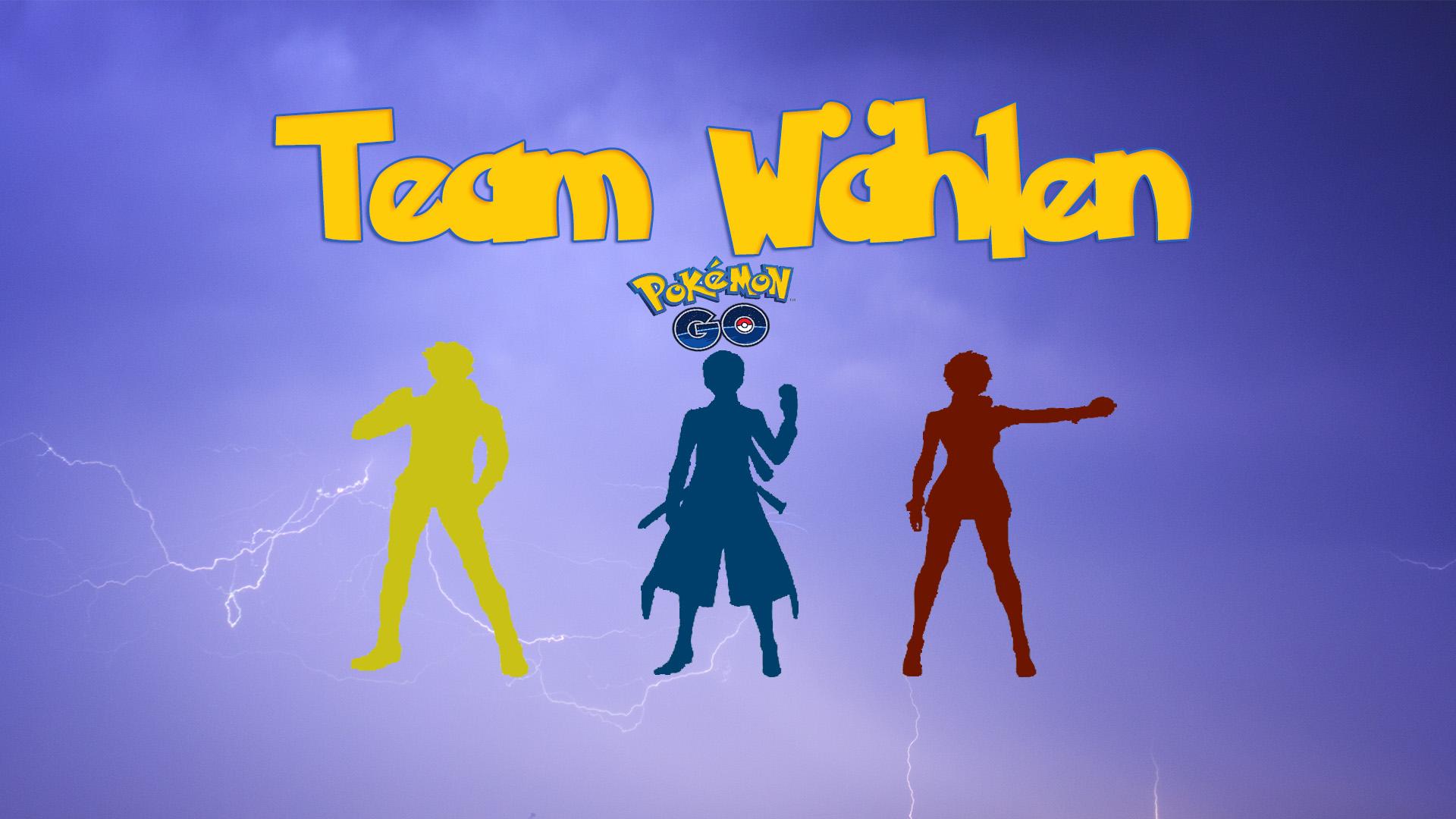 Pokemon-Go Team wählen2