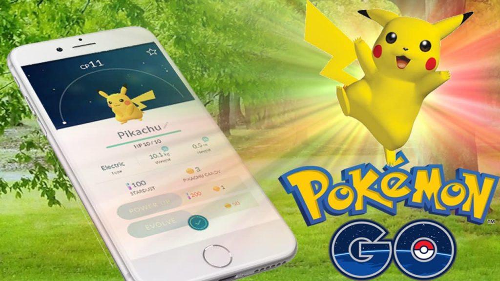 Pomeon go Alle Pokemon Pikachu