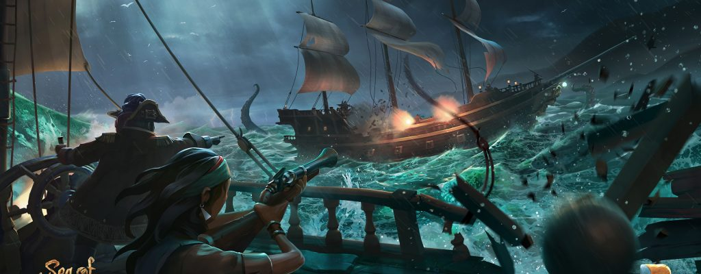 Sea of Thieves: Achtung vor dem Sturm! – Neues Gameplay im Video