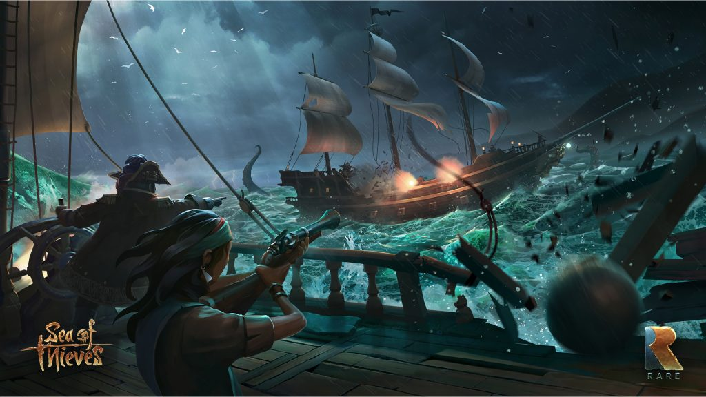 Sea of Thieves Artwork neu