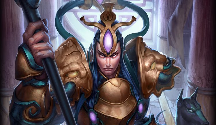 Smite God Card Illustrious Erlang Shen
