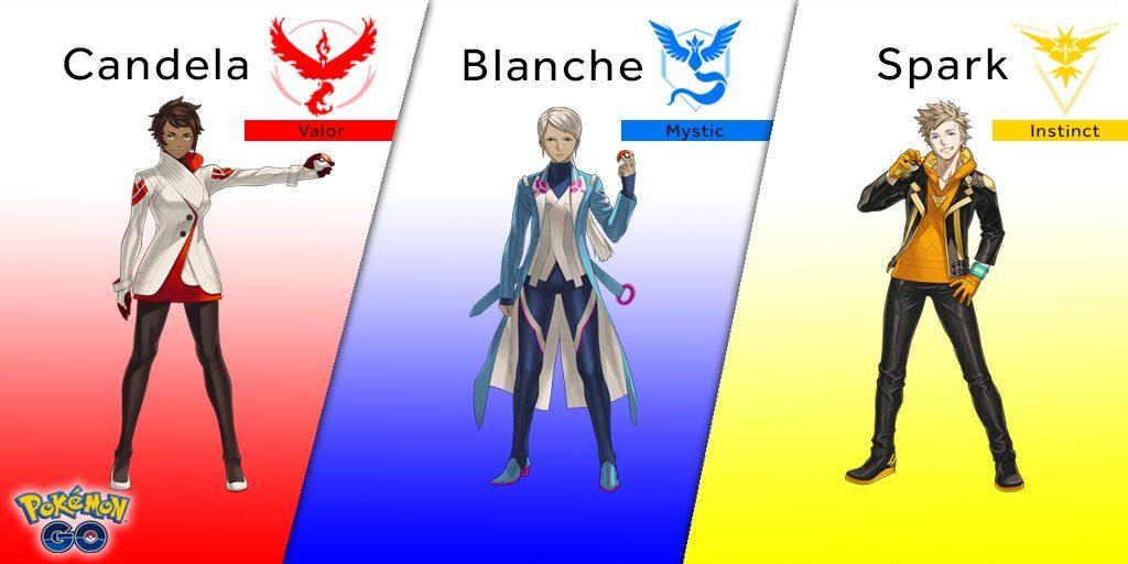 Team-Trainer-Pokemon-Go
