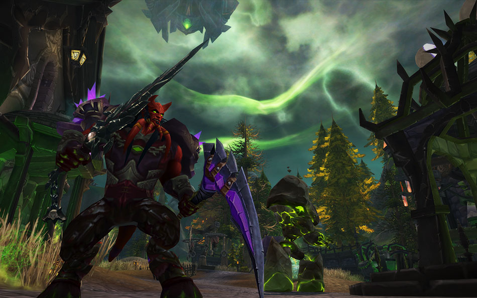 WoW Legion PreEvent Eredar Forsaken City