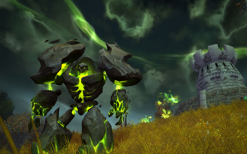 WoW Legion PreEvent Westfall Infernal