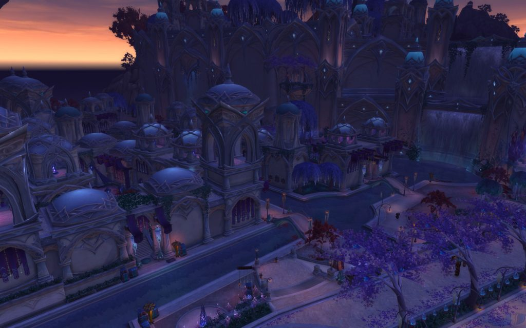 WoW Legion Suramar City