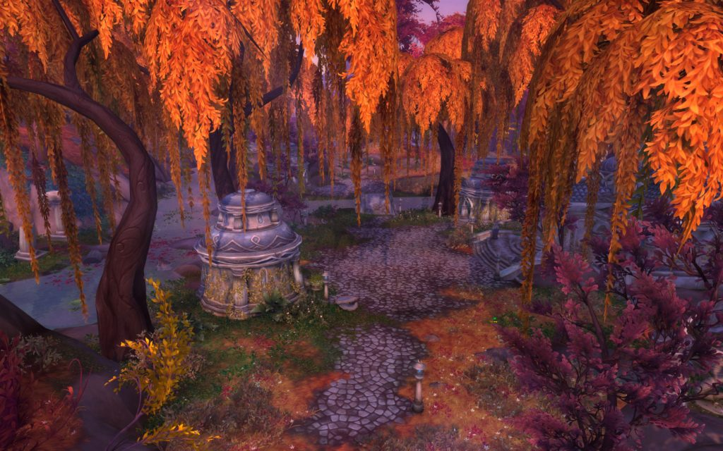 WoW Legion Suramar Wald Ruine