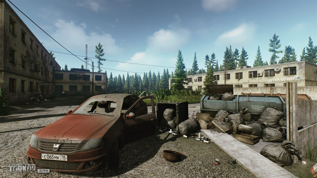 escape from tarkov the customs