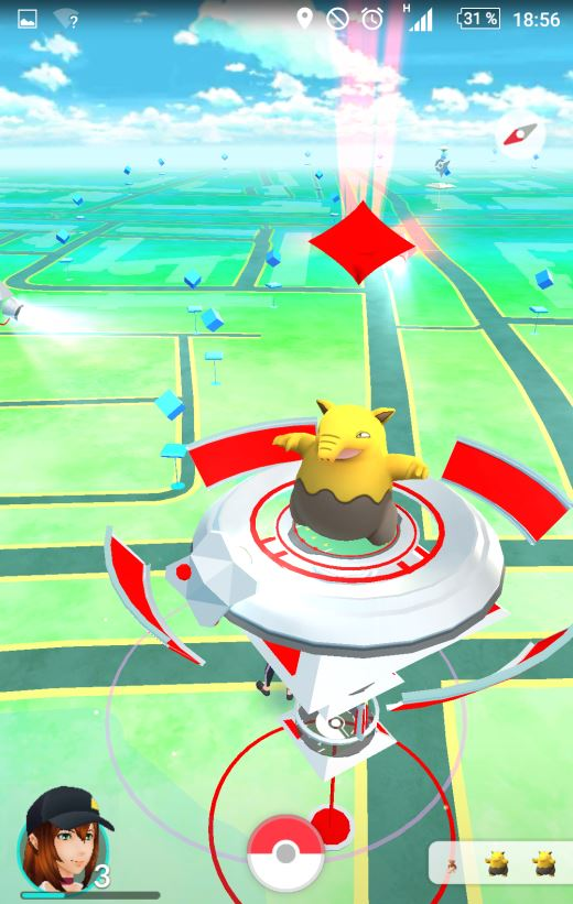 Pokémon GO Traumato