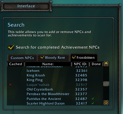 world of warcraft wow npcscan