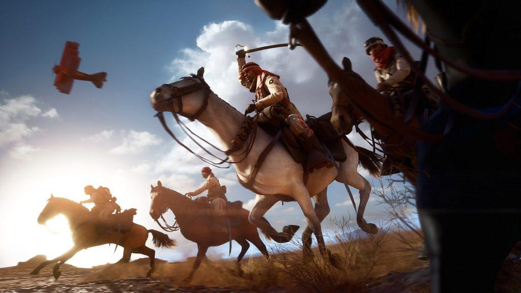 Battlefield 1 Pferd