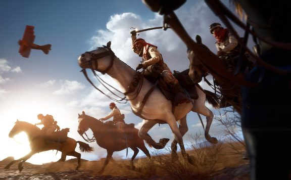 Battlefield 1 Pferd Reiter