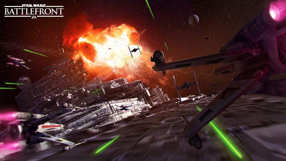 Battlefront Death Star Title