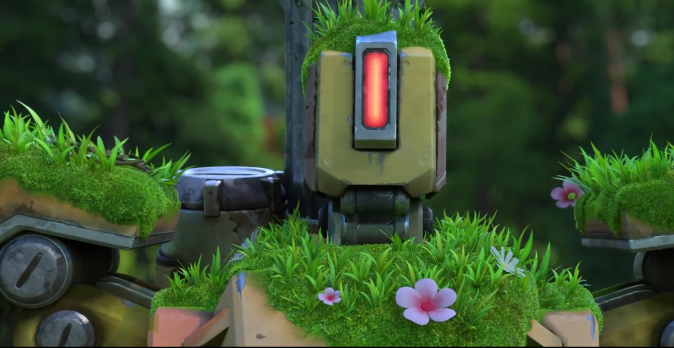 Overwatch Bastion Cinematic