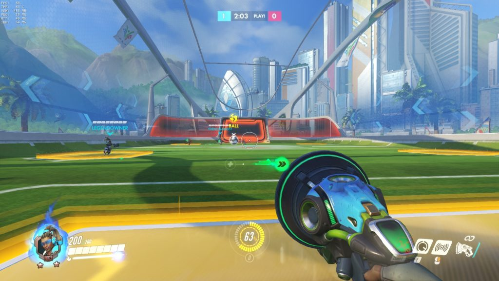 Overwatch Lucioball Gameplay