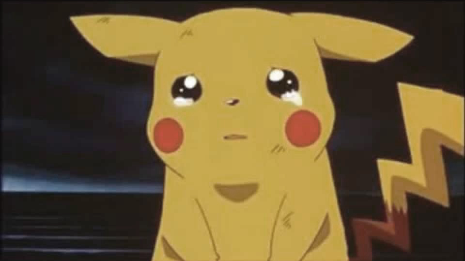Pokémon GO Pikachu Traurig tränen