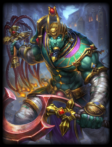 Smite God Card Osiris Lord of Silence