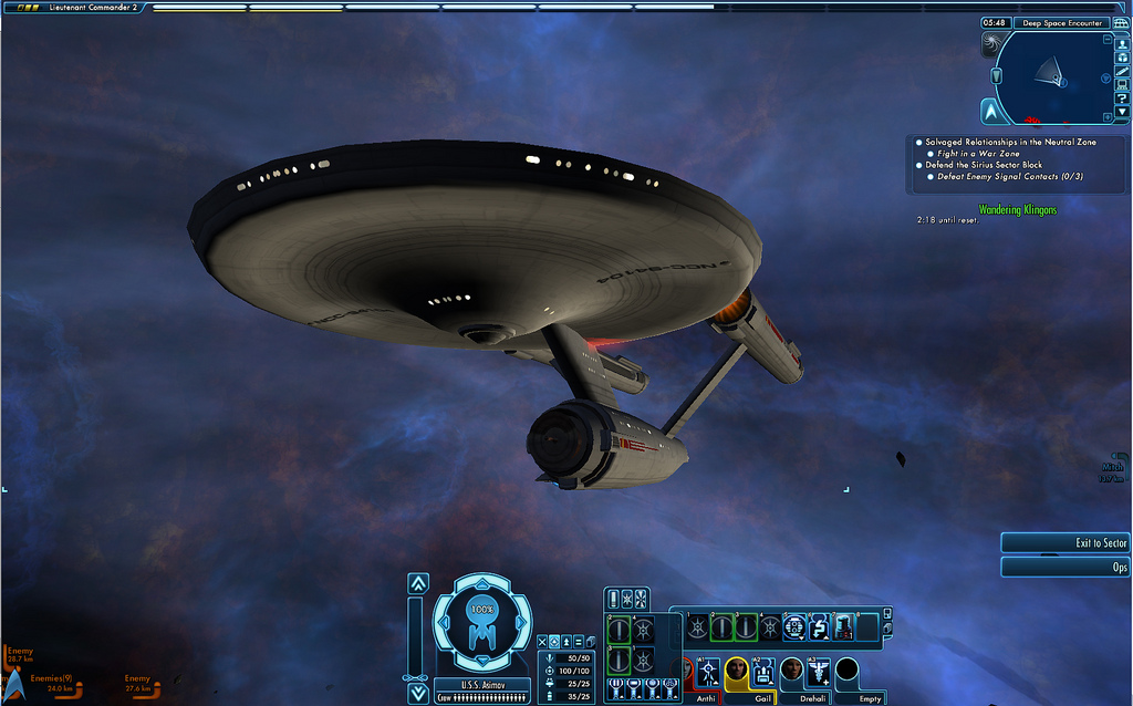 Star Trek Online Constitution Klasse