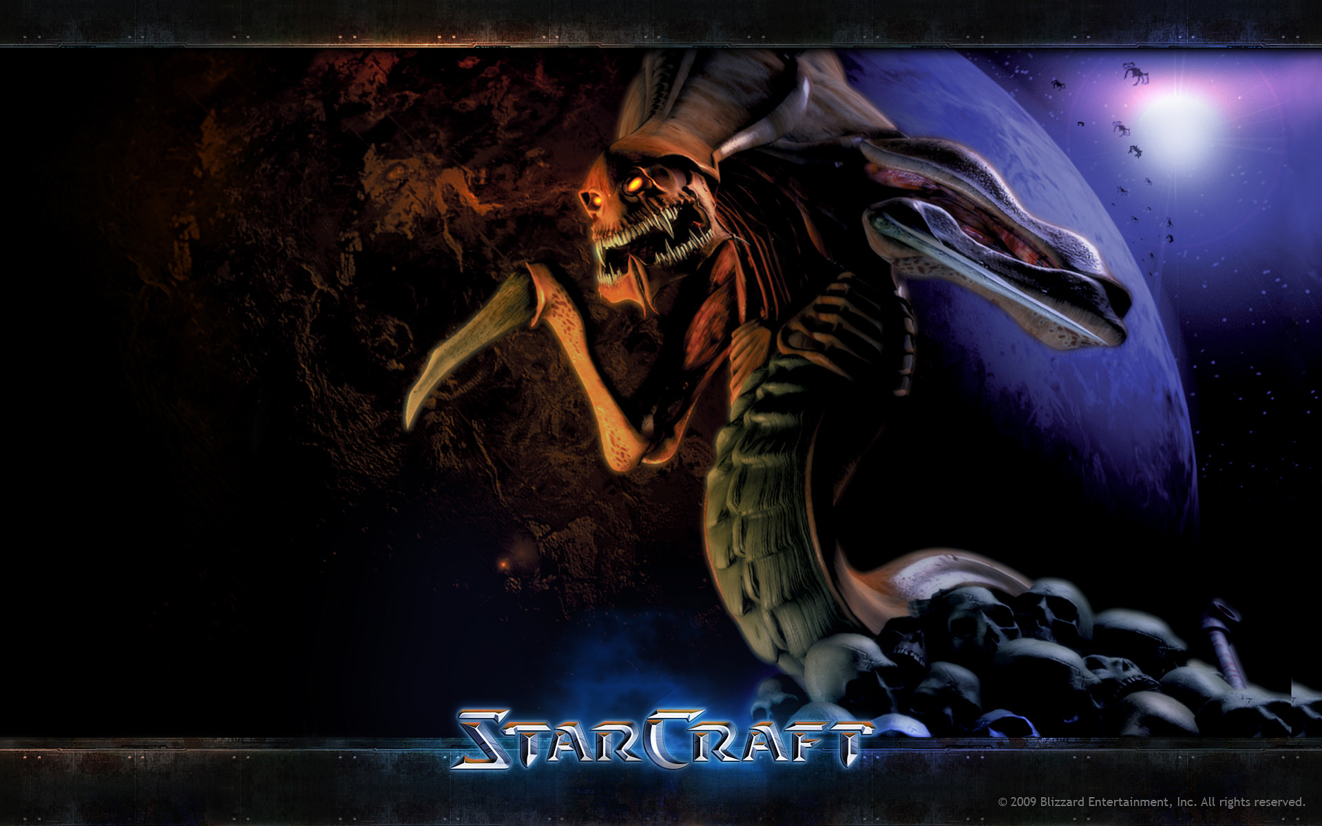 StarCraft Wallpaper Zerg Hydralisk