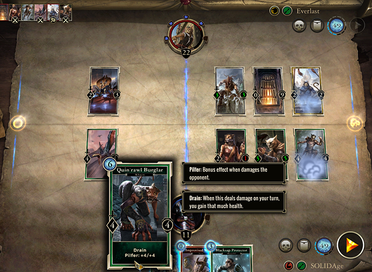The Elder Scrolls Legends Combat