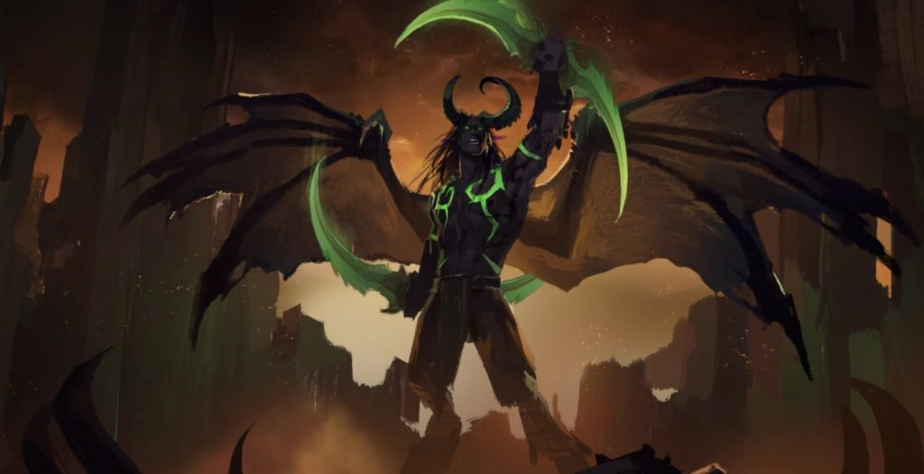 WoW Harbingers Illidan