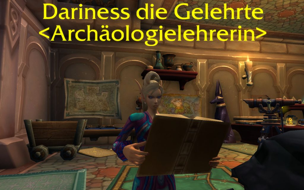 WoW Legion Archäologie Dariness