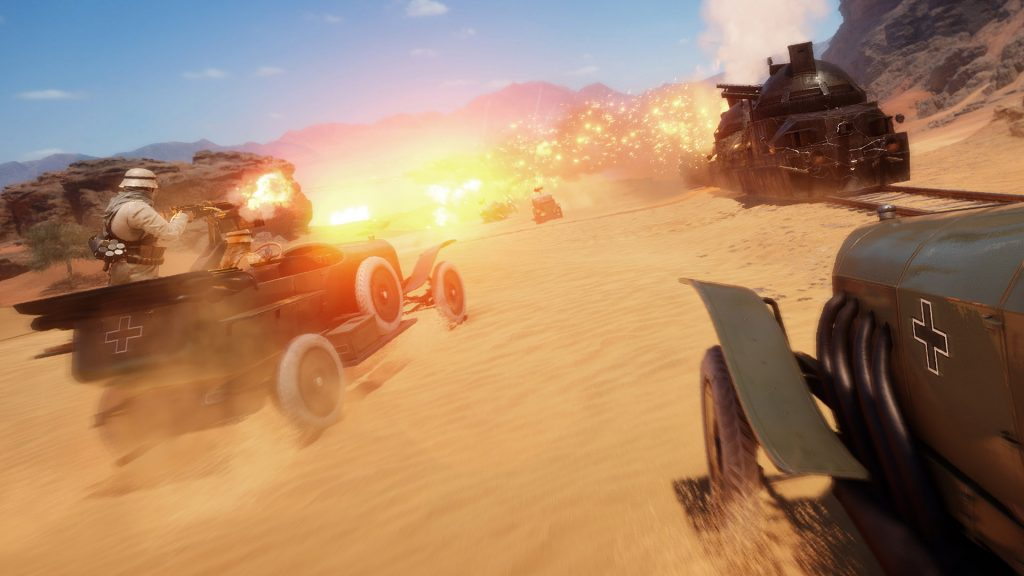 Battlefield 1 Auto Wüste