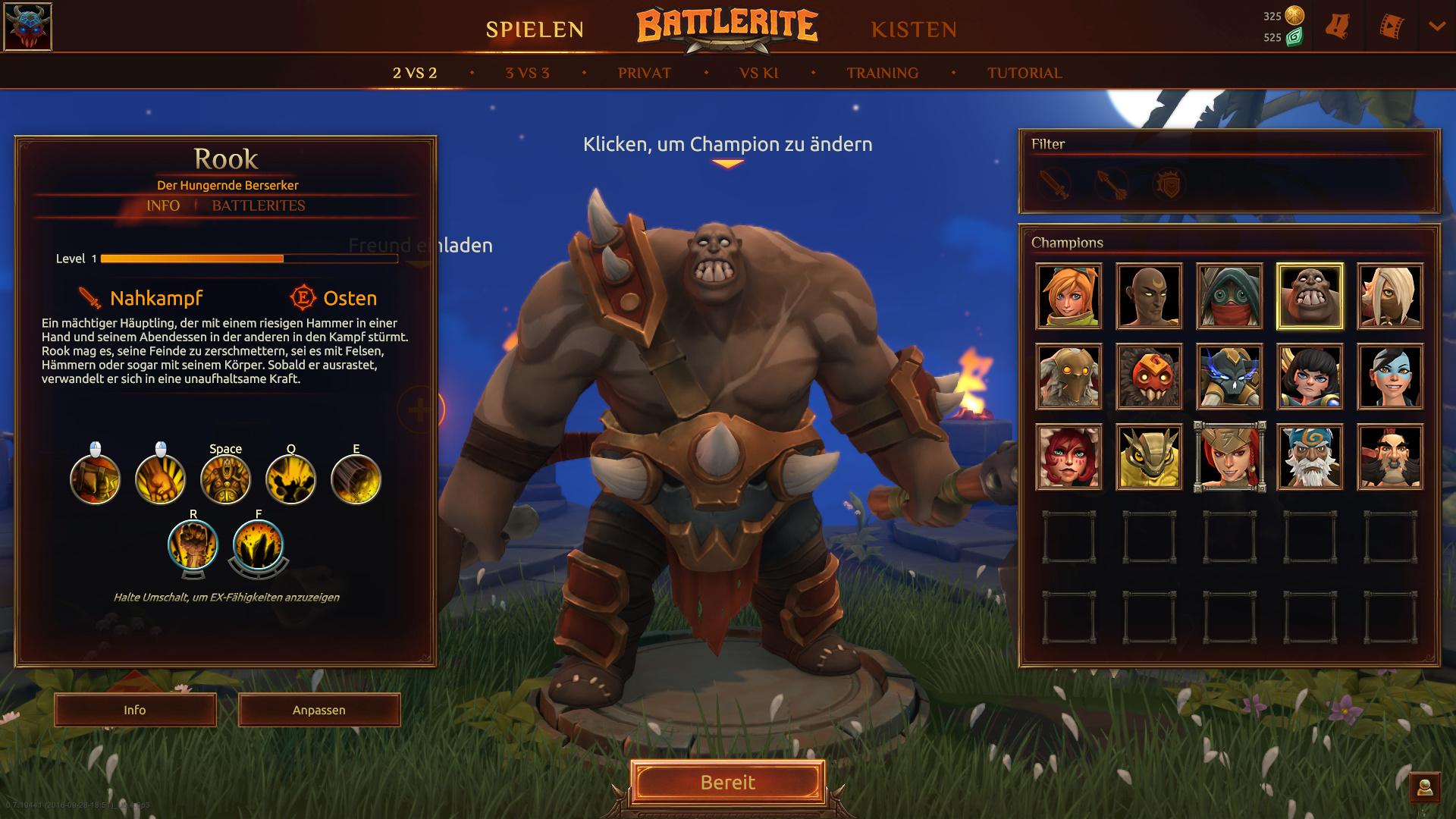 Battlerite-Skills