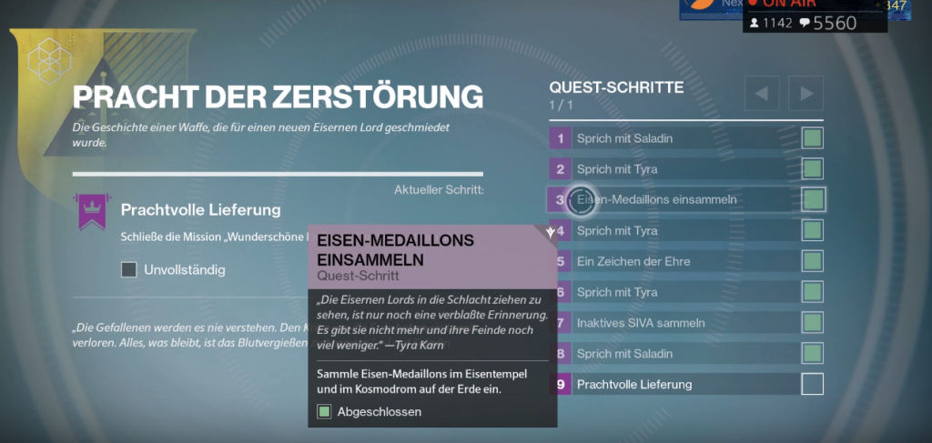 how to get gjallarhorn quest