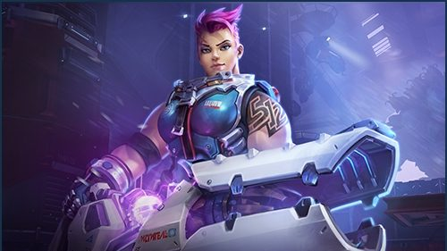 Hots Zarya Artwork
