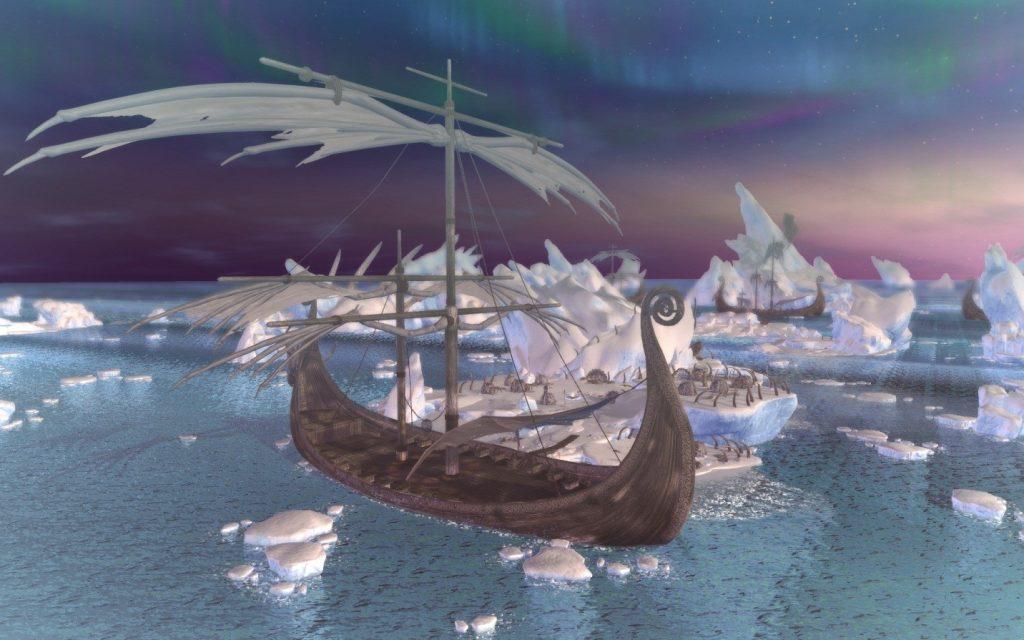 Neverwinter-Eisboot