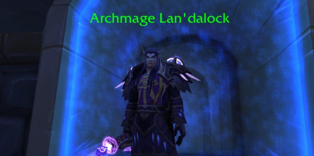 WoW Legion Archmage Landalock