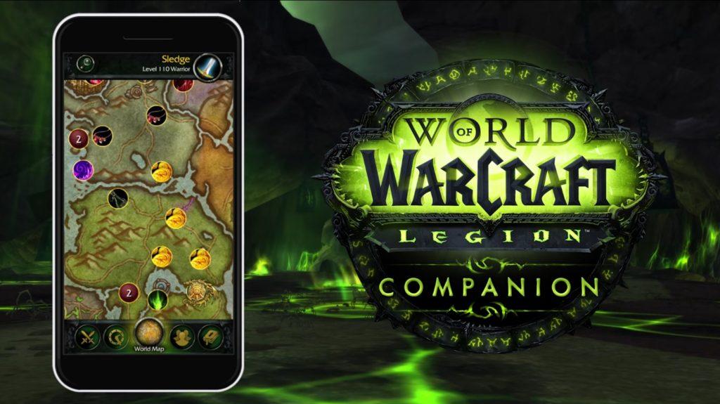 WoW Legion Companion App Title