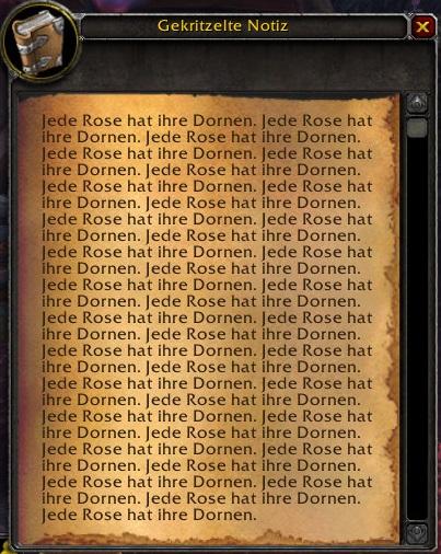 WoW Legion Dreadroot Paper 1