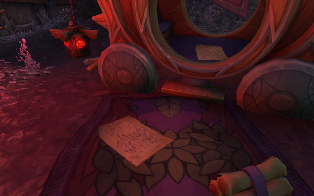 WoW Legion Dreadroot Papers