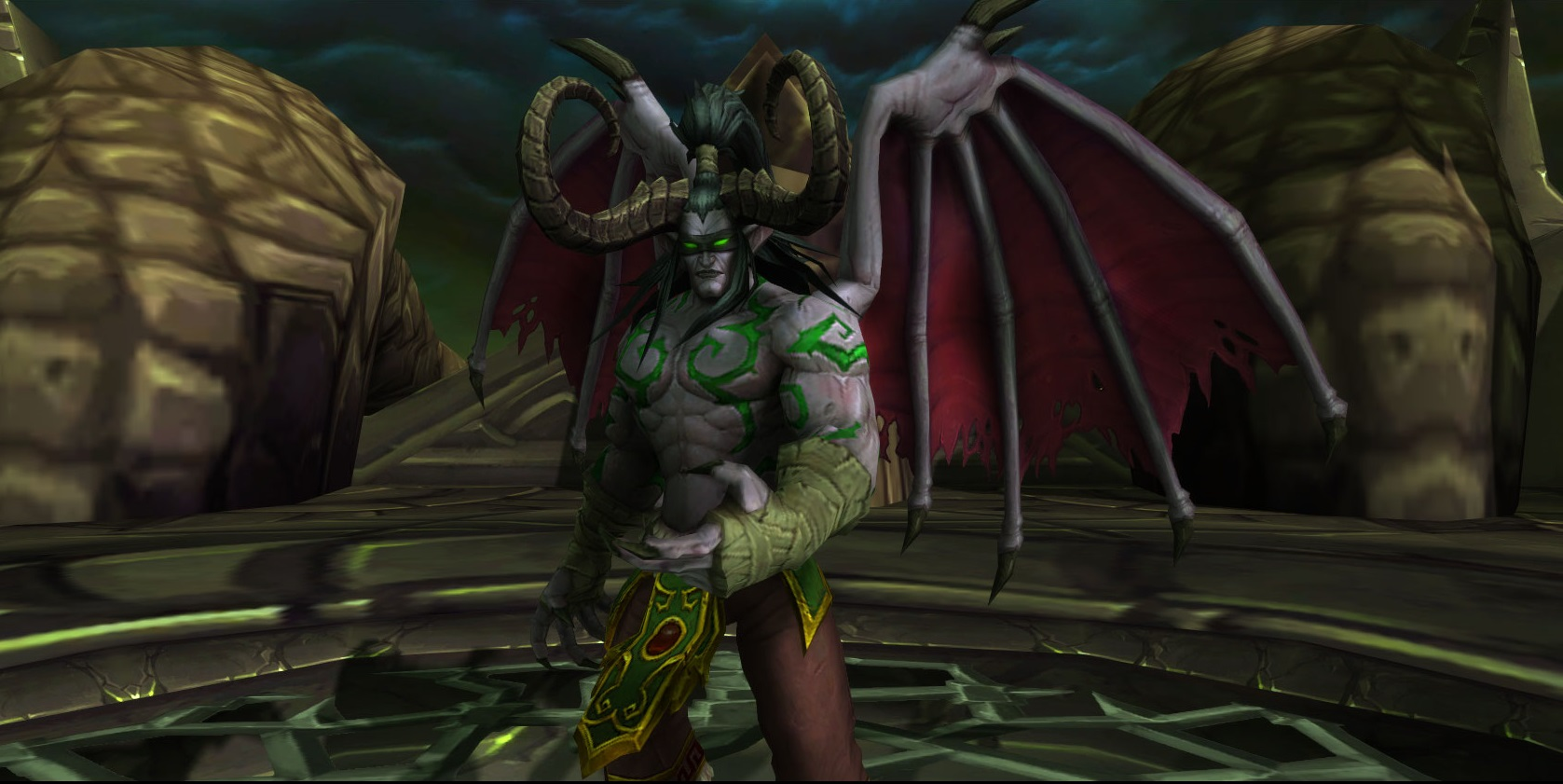 WoW Legion Illidan Boss