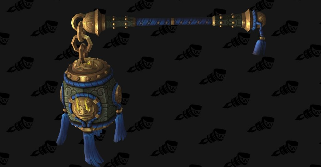 WoW Legion Monk Hidden Artifact Skin Brewmaster