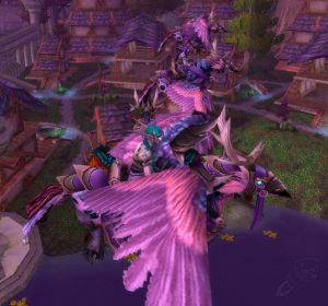 WoW Legion Pink Hyppogryphs